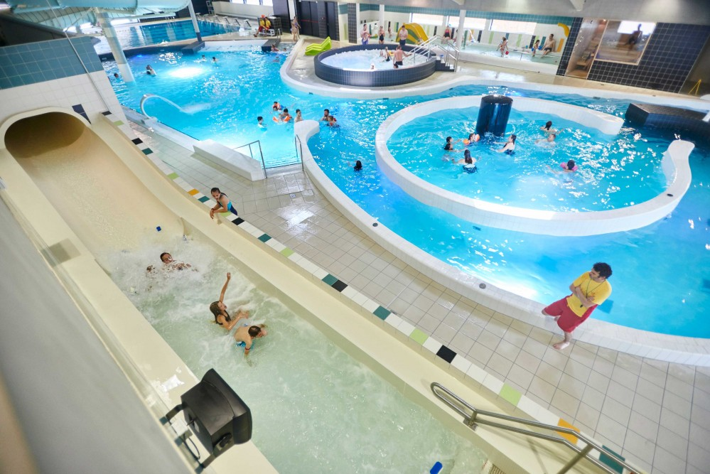 Centre aquatique zwembad de kouter for Horaire de piscine