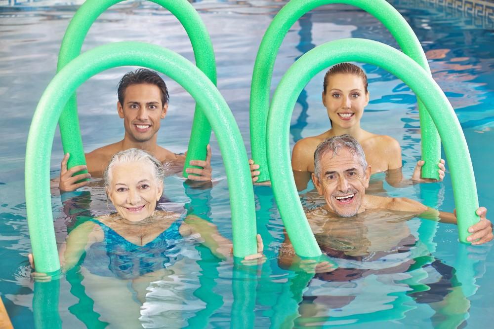 Aquafit activit s zwembad de kouter - Piscine poperinge ...